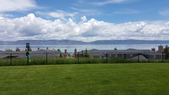 View of Bear Lake from Patio