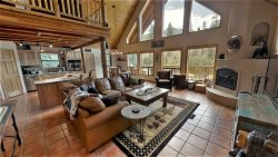 Bear Mountain Cabin - Updated and Beautifully Furnished Upper Valley Home with Free WiFi, Satellite, Wood Burning Fireplace, Gas Grill