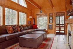 The Duke Family Cabin -  Upper Valley,  WiFi, Satellite, Wood Stove, Wrap Around Deck, Semi Secluded, Charcoal Grill, Plenty of Parking for Trailers & ATV`s