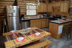 The Hidden Valley Cabin - Upper Valley w/ VIEWS, WiFi, Satellite, Washer/Dryer, Wood Stove, Semi Seclusion, Quiet Neighborhood, SUMMER RENTAL ONLY!
