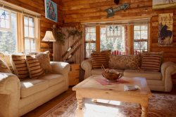 Dwyer`s  Den- Upper Valley, RUSTIC INTERIOR AND DECOR! Near The River, Satellite, Wood Burning Fireplace, Semi Secluded Setting, Charcoal and Gas Grills, Plenty of Parking for Vehicles, Trailers and ATV`s- Additional property for kids w/play fort!!