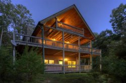 Pet Friendly Mountain Vacation Home In Blue Ridge