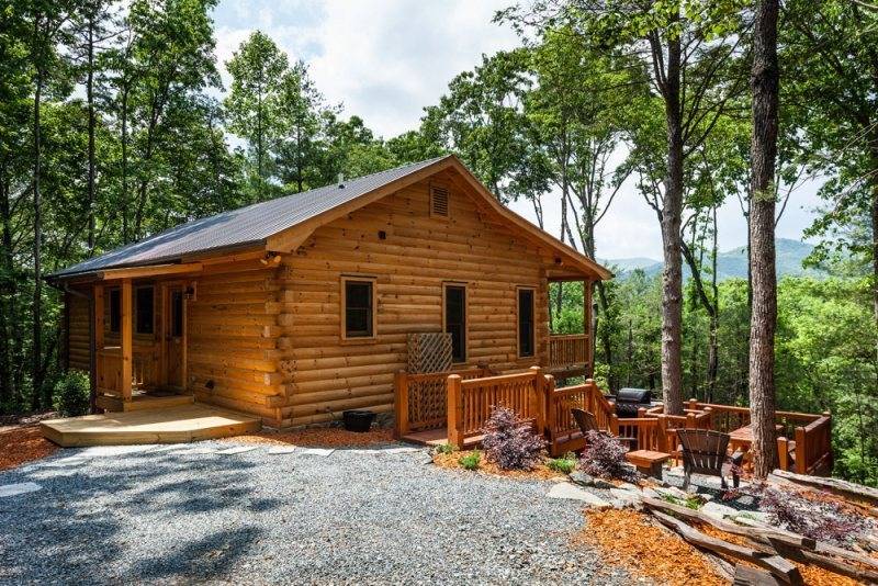 Mountain view cabin in north georgia the weeks end for Ellijay cabins for rent by owner