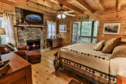 Ellijay GA Waterfront Rental Cabin