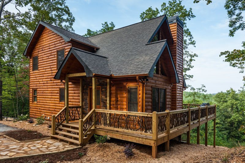 Custom Georgia Vacation Home Blue Sky Cabin Rentals ...