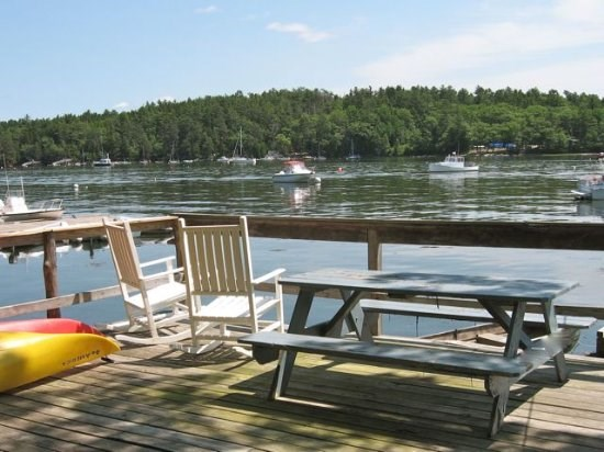 Fantastic View of Macmahan Island from Maine Vacation Rental