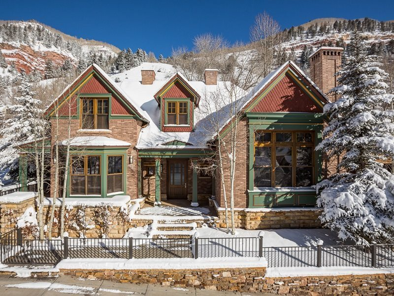 Galena estate downtown telluride vacation rental latitude 38 for Telluride cabin rental