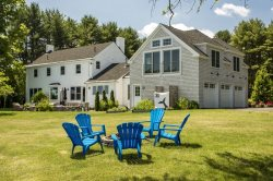 Spectacular Furnished Executive 5 Bedroom 4.5 Bath Home in Desirable Falmouth Foreside