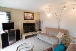 Sandcastle B4 is newly updated 2 bedroom 2 bath pet friendly condo just steps to the beach