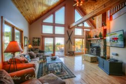 Upscale 6BR/6BA Mountain-style Home, Long Range Views, Club Amenities, 1.5 miles to the Slopes of Ski Beech, Sleeps 19