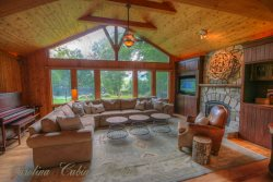 6BR in Banner Elk, NC, Rustic, Old Style Family Compound, Pool Table, Huge Fire Pit, Pond, Stream, Tennis Court