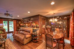 Upscale Home with Timeless Style on Beech Mtn - 3 King Suites, Fire Pit with Mountain Views, HDTVs, Club Privileges
