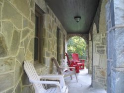 Stonehaven Lodge Front Porch