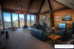 4BR High-Altitude Stunner, Enormous Views, Large Gathering Area, Lookout Cupula, Unique Design