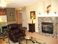 Hawks Peak Living Room with Gas Fireplace and Flat Screen