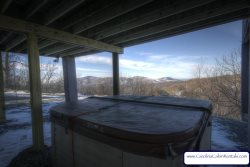 Top of The World Hot Tub with outstanding views