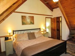Trailhead Cabin Master Bedroom with King Bed
