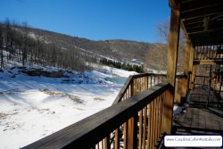 3BR Ski Villa just off Powder Bowl Terrain Park on Beech Mountain, Great Views, Easy Walk to the Slopes