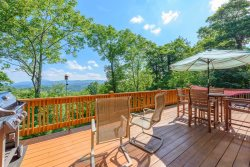 Valle Crucis Overlook Luxury Kitchen with Granite, Stainless Appliances and Views