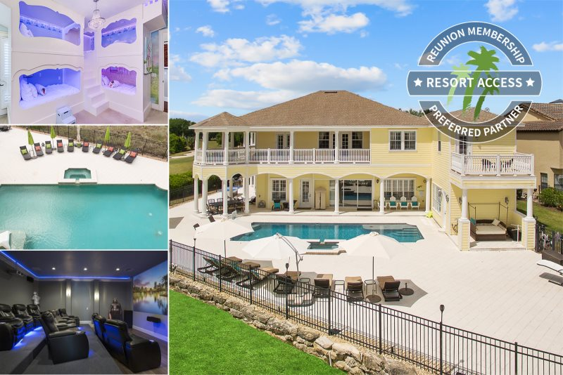 The house at reunion reunion resort most luxurious estate - 7 bedroom vacation rentals in orlando ...