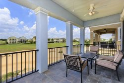 Second floor private balcony with Golf views