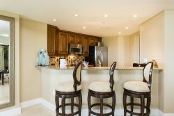 Wet Bar with granite counter tops