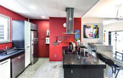 Spacious 4 Bedroom, 3 Bath Penthouse with Large Deck and Lateral Views of Copacabana Beach