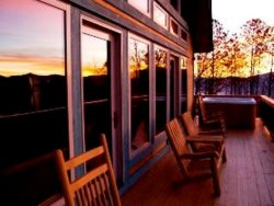 Enjoy the Beautiful Sunsets on the Deck