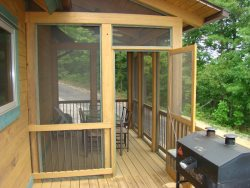 A Screened Porch for Bug Free Dining