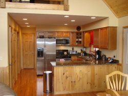 Gleaming Stainless Steel Appliances and Granite Countertops