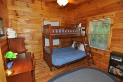 The Bunk Bed in the Third Bedroom on the Main Floor