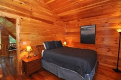 Get Back to Nature at a Real Log Cabin