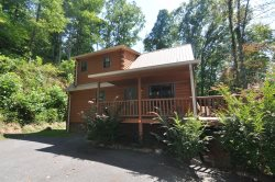 Wolf Ridge � Secluded Log Cabin - Enjoy the outdoors through Large Windows � Indoor Jetted Tub -- Hiking at the Cabin