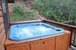 Let Your Cares Drift Away in the Hot Tub