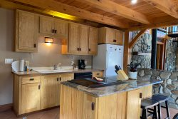 Rejuvenate in the Secluded Hot Tub