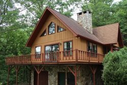 Cozy Cabin is Only 5 Miles from the Great Smoky Mountains Railroad