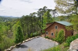 Mountain Aire Is A Secluded Log Cabin Just Outside Bryson City