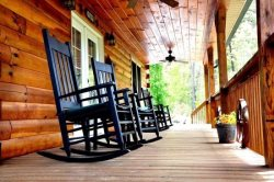 Enjoy Smokey Mountain Breezes On the Porch