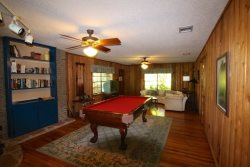 Upstairs Pool Table - Lake LBJ Vacation Rental Property