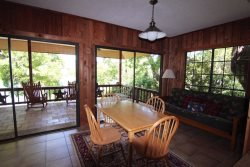 Upstairs with Futon Sleeper and Upper Balcony - Waterfront Rental On Lake LBJ