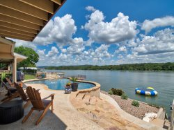 Llano Vista - Llano Arm on Deep Water - 2017 Updates Include Swimming Pool and Remodeled Bathrooms , Water Trampoline!