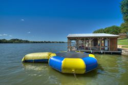Azure Relaxin` on LBJ 4 Bedroom with Swimming Pool, Jacuzzi, Water Trampoline