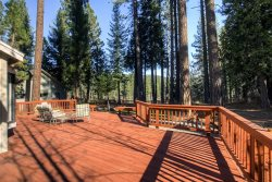 #226 SEQUOIA Stunning home that has a platform with views of the river $225.00-$255.00 BASED ON DATES  AND NUMBER OF NIGHTS (plus county tax, SDI, Cleaning Fee  and processing fee)