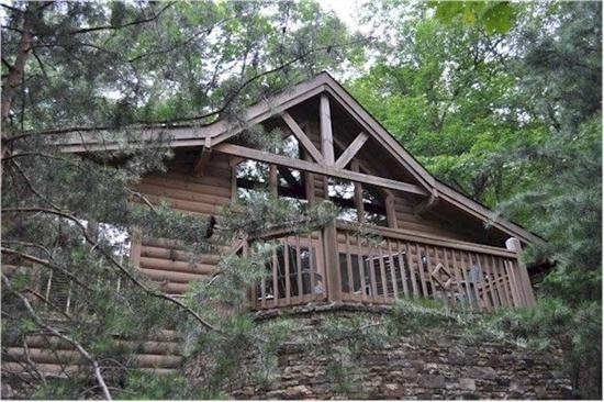 Soaring hawk big canoe vacation rentals for Big canoe lodge