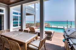 95 Chivas Amazing Gulf Front 30A Seagrove Beach Vacation Rental House with PRIVATE POOL + FREE BIKES!