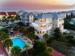 `Seaglass` South Side 30A Seagrove Beach Vacation Rental House