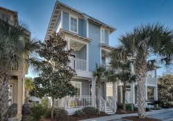 `Blue Pointe of View` Seacrest Beach Vacation Rental House + FREE BIKES!