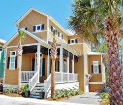 `Camp David` 30A Seacrest Beach Vacation Rental Home with PRIVATE POOL + FREE BIKES