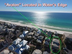 `Avalon` South Side 30A Seacrest Beach FL Vacation Rental House + FREE BIKES!