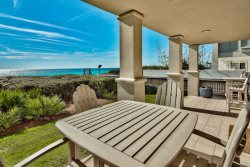 `Sunset 102C` 30A Seacrest Beach FL GULF FRONT Vacation Rental + Pool + Beach Chairs (seasonal)